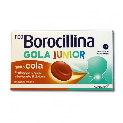 Neoborocillina Gola Junior 15 Pastiglie Gommose - Arcafarma.it