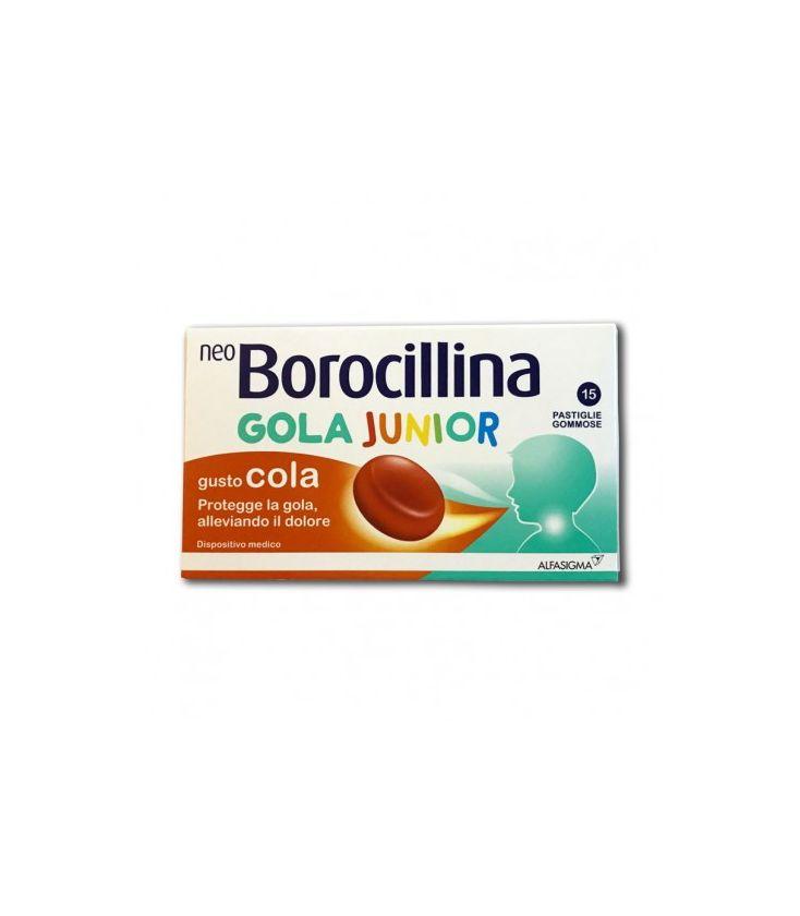 NEOBOROCILLINA GOLA JUNIOR 15 PASTIGLIE GOMMOSE - Farmastar.it