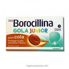 NEOBOROCILLINA GOLA JUNIOR 15 PASTIGLIE COLA - farmaciafalquigolfoparadiso.it