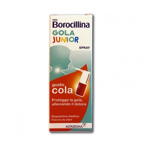 NEOBOROCILLINA GOLA JUNIOR SPRAY 20 ML - Farmalandia