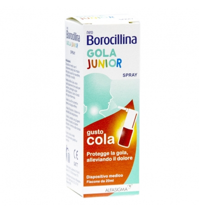 NEOBOROCILLINA GOLA JUNIOR SPRAY 20 ML - pharmaluna