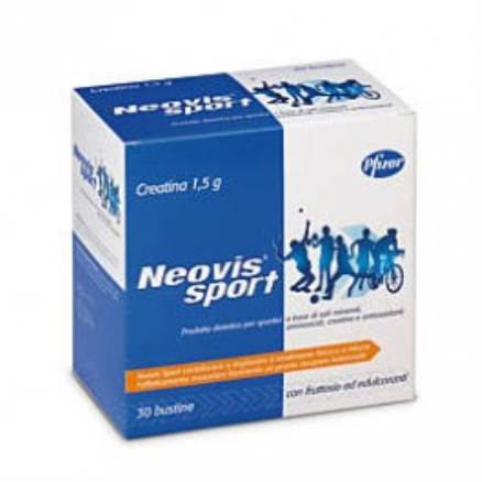 Neovis Sport Integratore Energetico Creatina 1,5 g 30 bustine - La tua farmacia online
