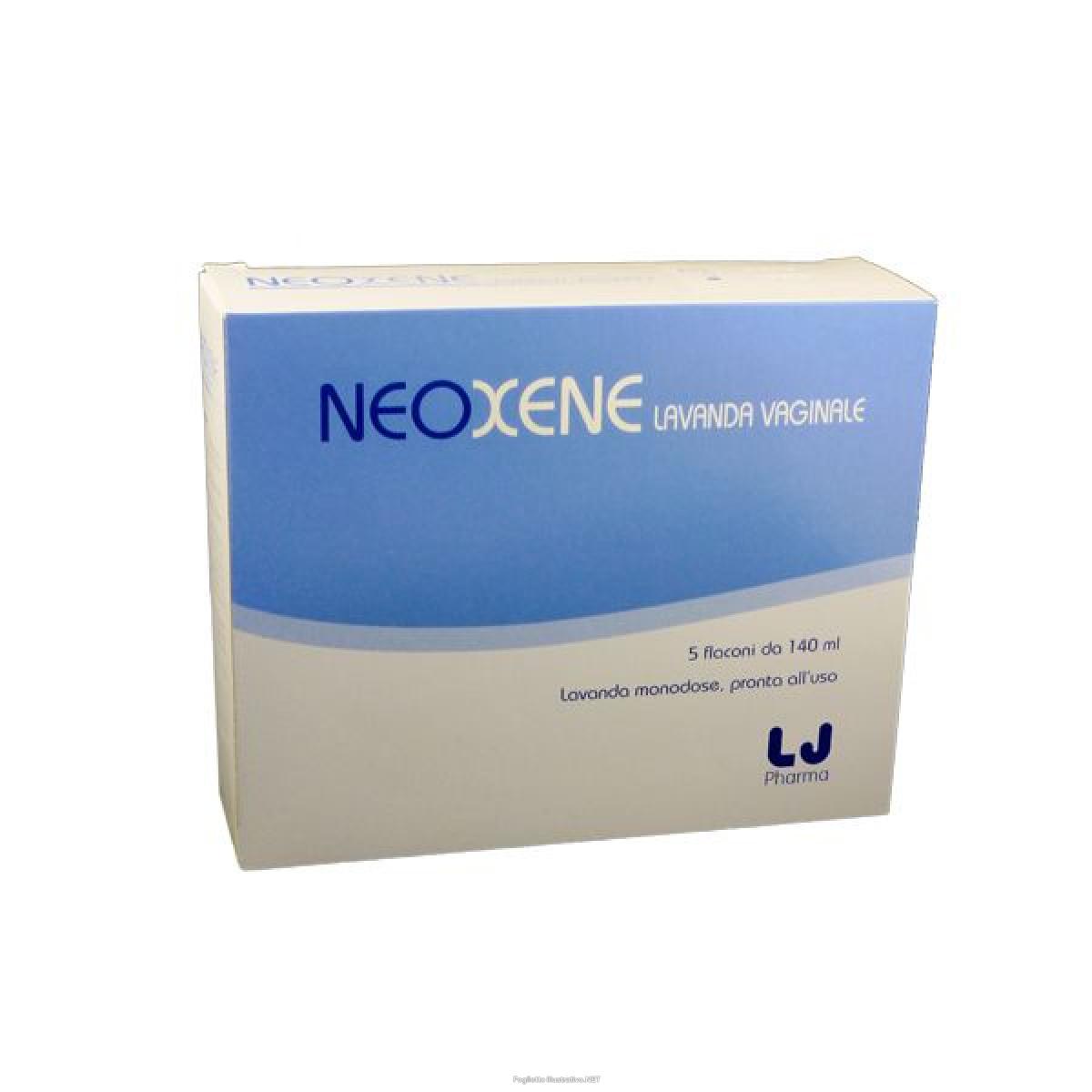 NEOXENE LAVANDA VAGINALE 5 FLACONI 140 ML - Farmafamily.it