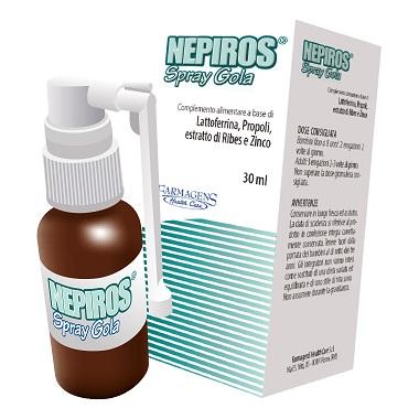 NEPIROS SPRAY GOLA 30 ML NUOVA FORMULA - Speedyfarma.it