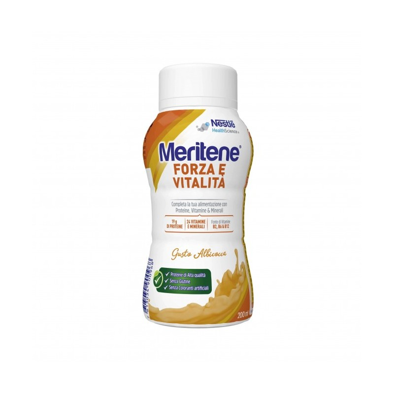 Nestlé Healt Science Meritene Drink Gusto Albicocca Integratore Alimentare 200ml - Farmafamily.it