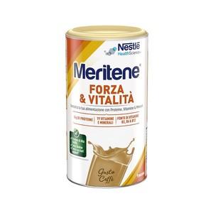 Meritene polvere Protein Gusto Caffè Integratore Alimentare 270g - Farmafamily.it