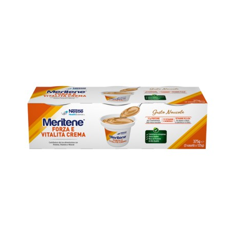 MERITENE CREME NOCCIOLA 3 X 125 G - Farmafamily.it