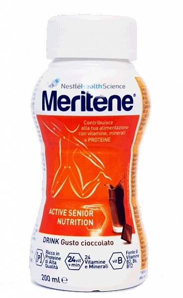 Meritene Drink Gusto Cioccolato 200ml - Farmawing