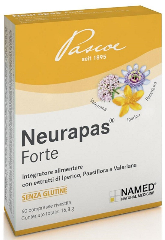 Neurapas Forte 60 Compresse - Arcafarma.it