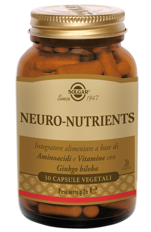 NEURO-NUTRIENTS 30 CAPSULE VEGETALI - Farmacia 33