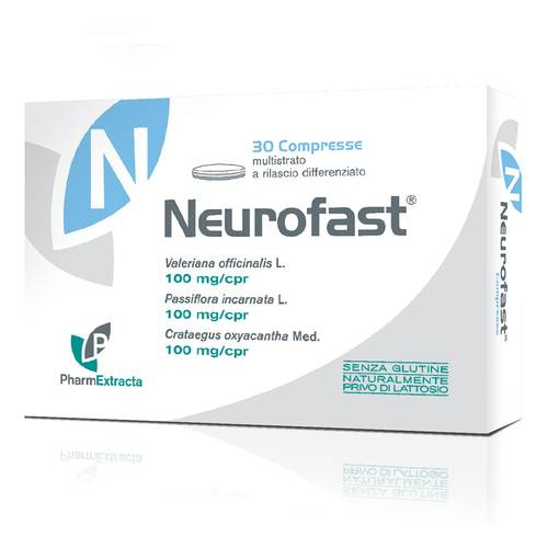 PHARMEXTRACTA NEUROFAST INTEGRATORE ALIMENTARE  30 CAPSULE DA 30 G - Farmastar.it