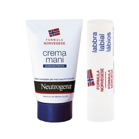 Neutrogena Crema Mani Profumata + Lipstick Bundle - Farmalilla