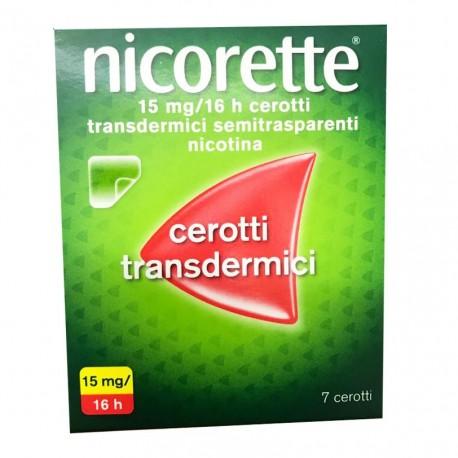 Nicorette 7 Cerotti Transdermici alla Nicotina 15mg/16h - Arcafarma.it