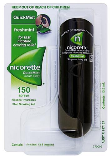 NICORETTEQUICK*SPRAY 1FL 150D - Farmacia Centrale Dr. Monteleone Adriano