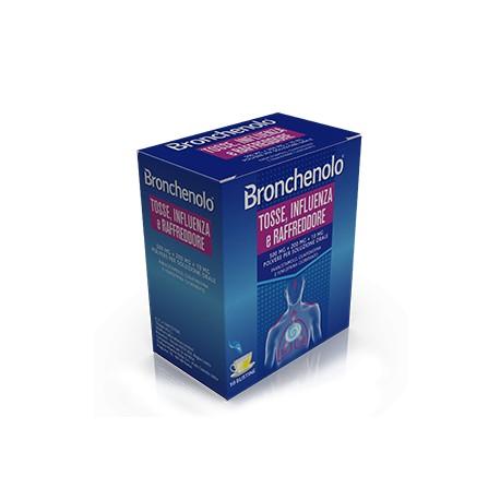 bronchenolo tosse influenza e raffreddore  10 Bustine - Farmacento