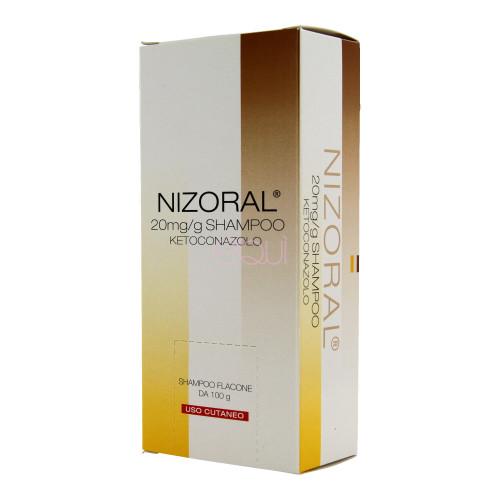 NIZORAL*SHAMPOO FL 100G 20MG/G - Zfarmacia