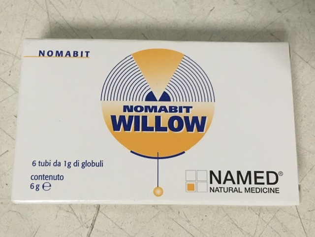 Nomabit Willow Globuli Integratore Alimentare 6g - FARMAEMPORIO