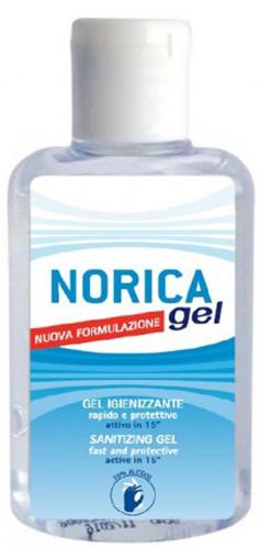 NORICA GEL IGIENIZZANTE MANI NUOVA FORMULAZIONE 80 ML - Farmacia Centrale Dr. Monteleone Adriano