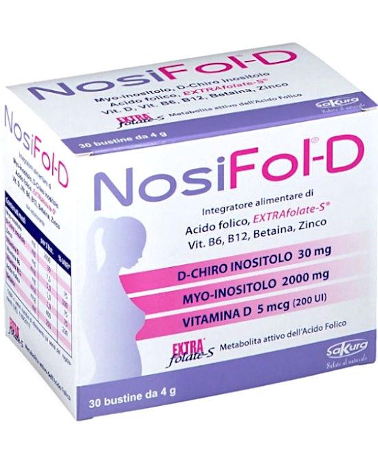NOSIFOL-D 30 BUSTINE - Farmaci.me