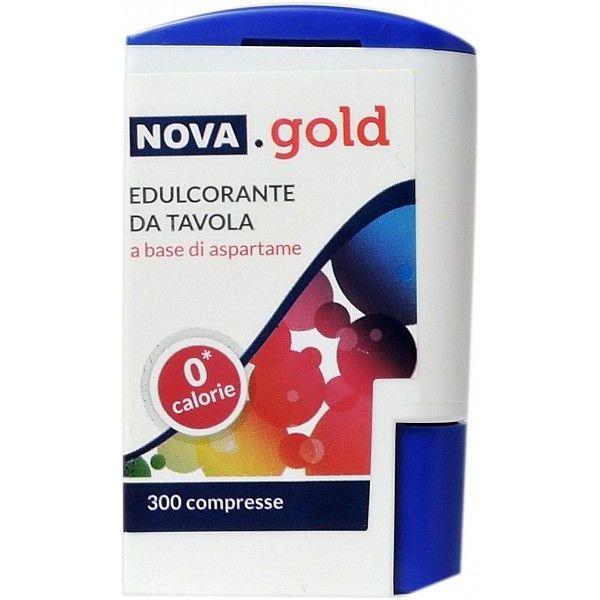 NOVA GOLD EDULCORANTE DA TAVOLA 300 COMPRESSE - Iltuobenessereonline.it