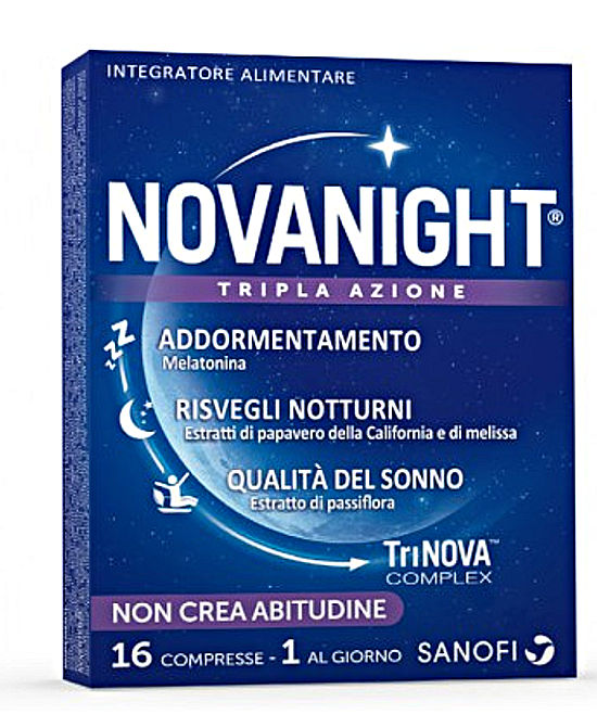 NOVANIGHT 16 COMPRESSE - Farmaci.me