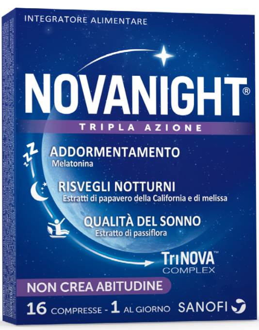 NOVANIGHT 16 COMPRESSE - Farmacia Centrale Dr. Monteleone Adriano