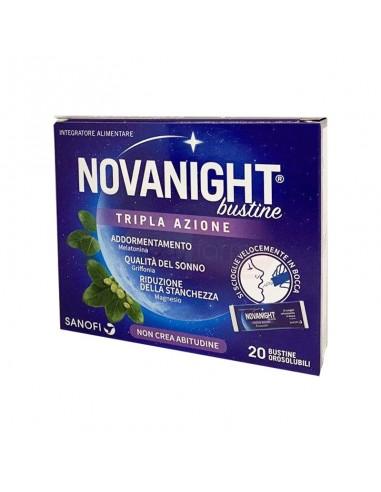NOVANIGHT 20 BUSTINE TRIPLA AZIONE - farmasorriso.com