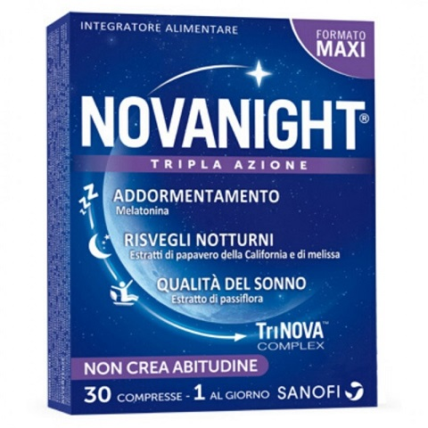 Sanofi Spa Novanight 30 Compresse - Farmafamily.it