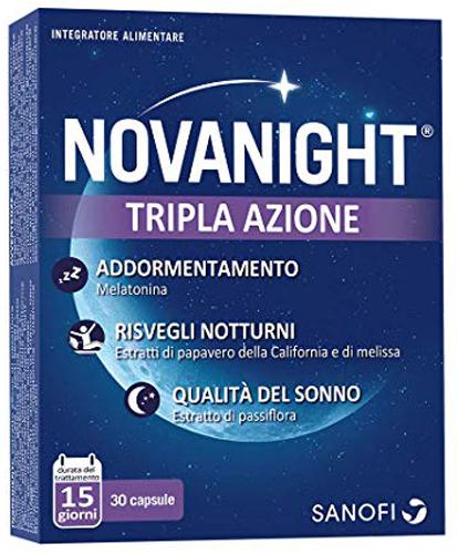 NOVANIGHT 30 COMPRESSE - Farmacia Centrale Dr. Monteleone Adriano