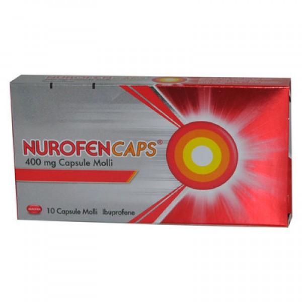 NUROFENCAPS*10CPS MOLLI 400MG - Parafarmacia la Fattoria della Salute S.n.c. di Delfini Dott.ssa Giulia e Marra Dott.ssa Michela