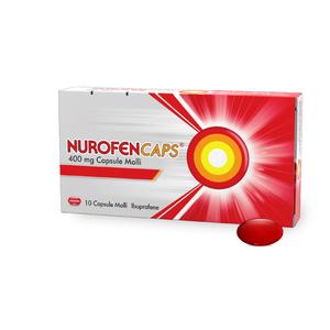 NUROFENCAPS*10CPS MOLLI 400MG - Farmacia Cerello