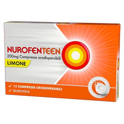 NUROFENTEEN*12CPR OROD 200MG M - Farmacento