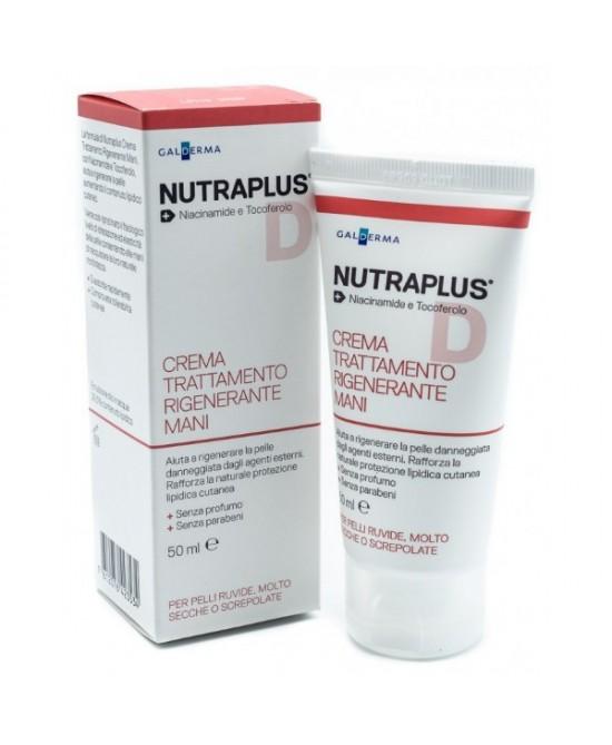 Nutraplus Crema Trattamento Rigenerante Mani 50ml