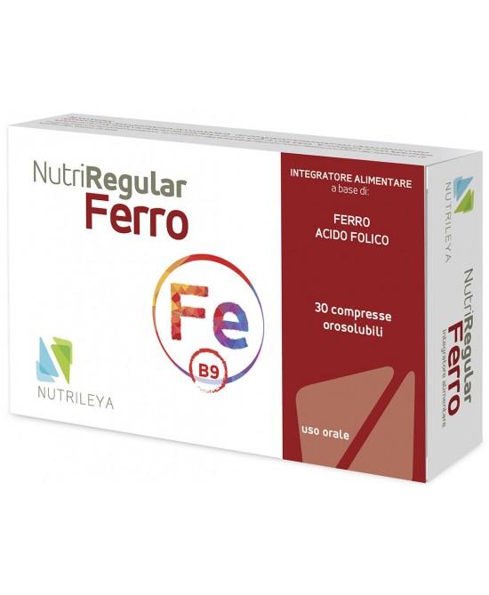 NutriRegular Ferro 30 Compresse Orosolubili - Arcafarma.it