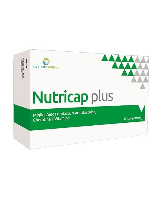 NUTRICAP PLUS 30 COMPRESSE - Farmapage.it