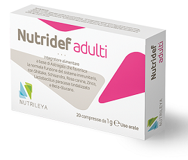 NUTRIDEF ADULTI 20 COMPRESSE - Farmacia 33