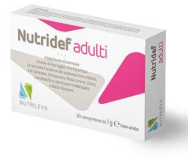 NUTRIDEF ADULTI 20 COMPRESSE - IMMUNOSTIMOLANTE - Farmacia33