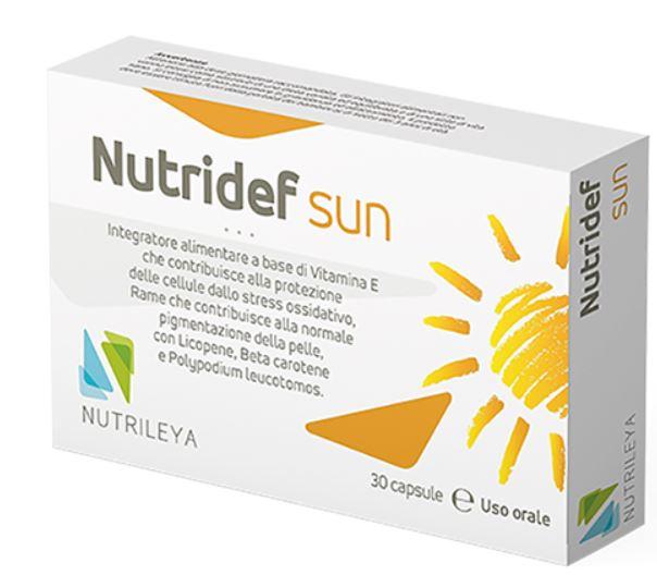 NUTRIDEF SUN 30 CAPSULE - Farmacia 33