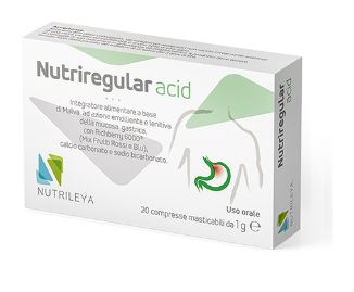 Nutrileya Nutriregular Acid 20 Compresse Masticabili - Farmacia 33