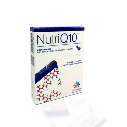 NUTRIGEA NUTRIQ10 30 CAPSULE - Farmastar.it