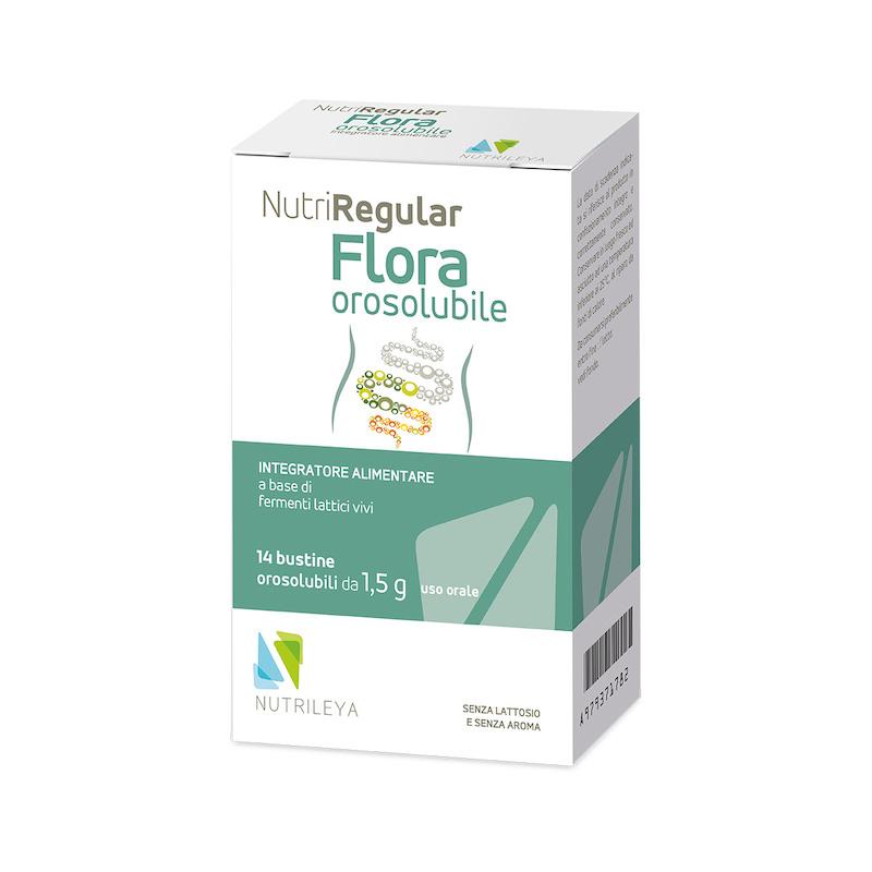 Nutriregular Flora 14 Bustine Orosolubili - Arcafarma.it