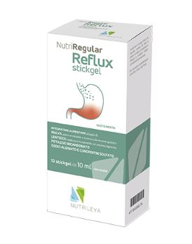 NUTRIREGULAR REFLUX 12 STICK GEL - DIGESTIONE REFLUSSO  - Farmacia33