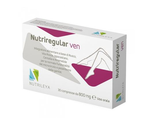 NUTRIREGULAR VEN 30 COMPRESSE - Farmacia 33
