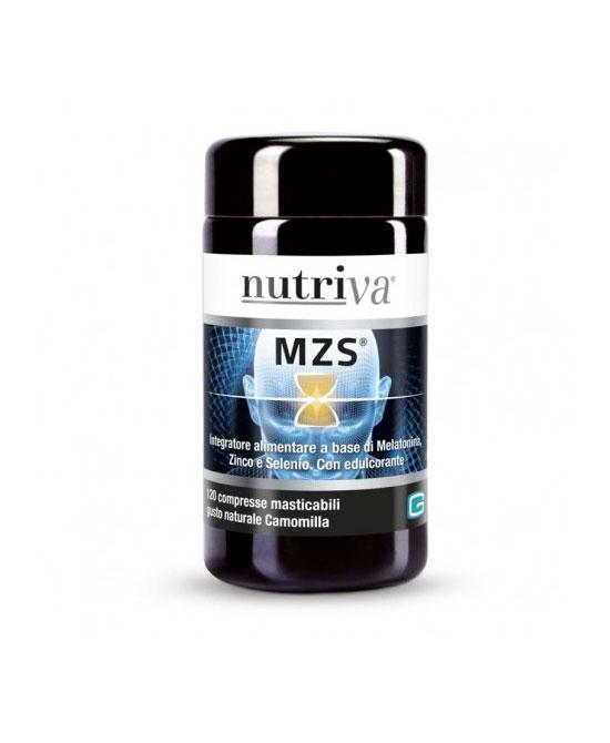 Nutriva MZS 120 Compresse Masticabili - latuafarmaciaonline.it