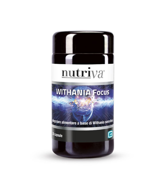 NUTRIVA WITHANIA FOCUS 30 CAPSULE - latuafarmaciaonline.it