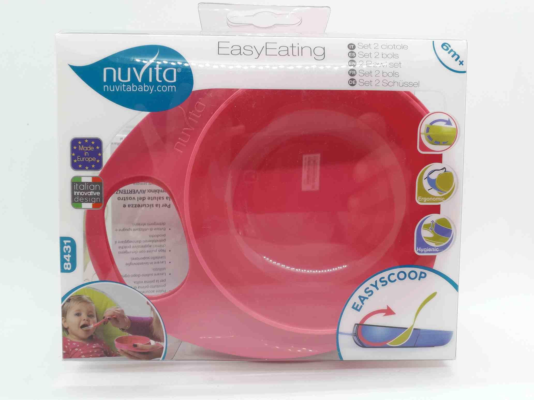 NUVITA CIOTOLA EASY EATING ROSA - Farmaciaempatica.it