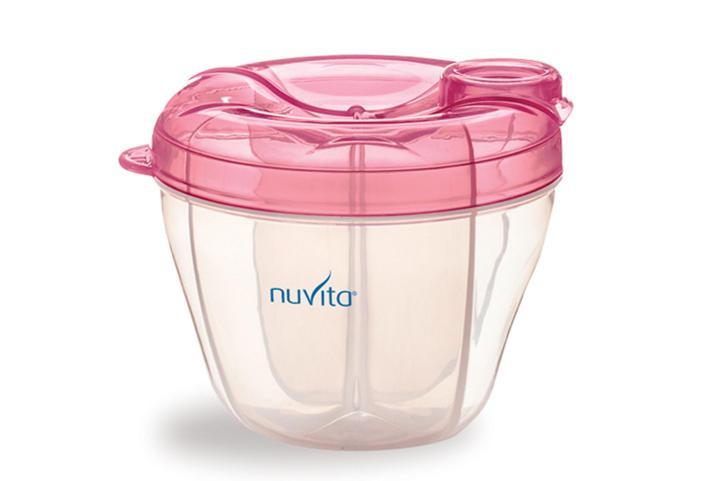 Nuvita Dosatore e Contenitore per il Latte in Polvere colore rosa - Arcafarma.it