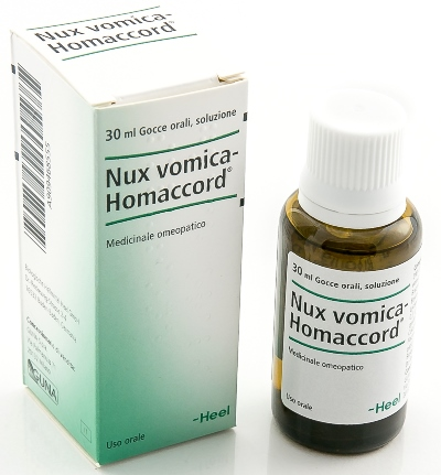Nux Vomica-Homaccord Heel Gocce 30 ml - Farmalilla