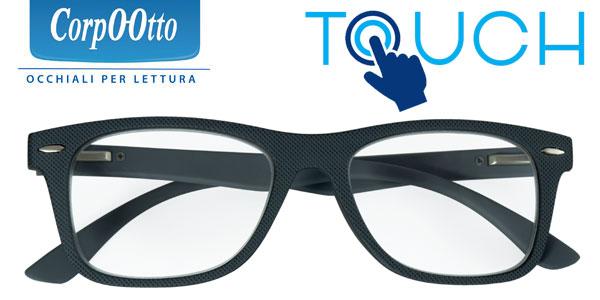 Occhiale da Lettura premontato Touch Grigio 3,00 Diottrie - Farmalilla