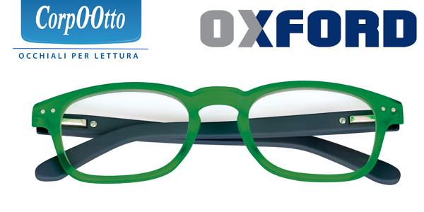 Occhiale premontato Oxford Verde +1,00 - Farmalilla
